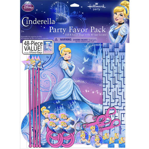 Cinderella Sparkle Favors Value Pack