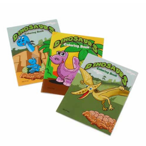 Mini Dinosaur Coloring Books