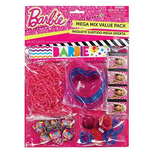 Barbie Favors Value Pack