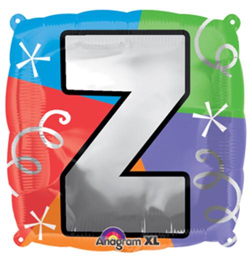 "18"" Letter Z Quad Balloon"