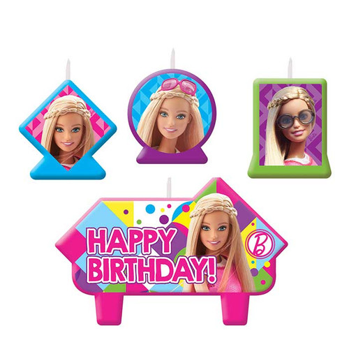 Barbie Birthday Candle Set