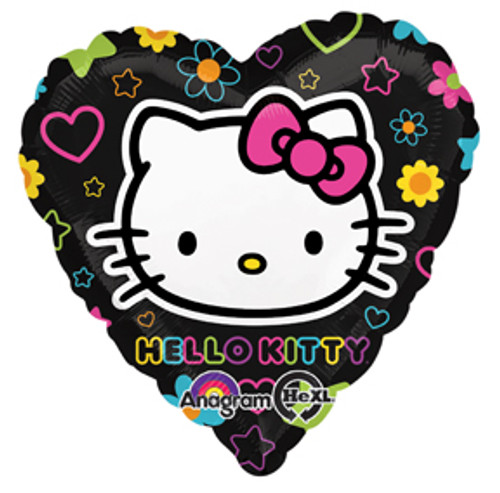 "17"" Hello Kitty Tween Heart Balloon"