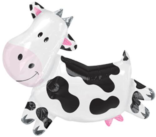 """30"""" Cow Super Shape Balloon"""