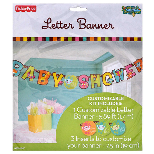 Fisher Price Baby Shower Letter Banner 1.7m