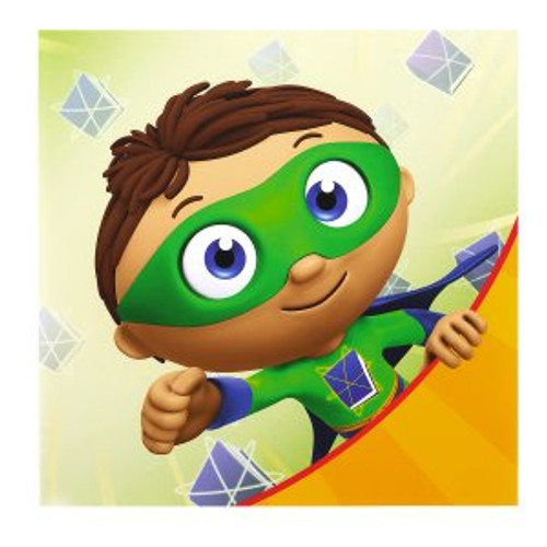 Super Why Lunch Napkins