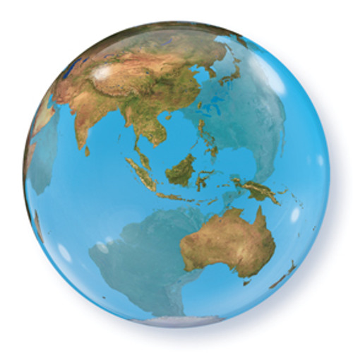 "22"" Planet Earth Bubble Balloon"