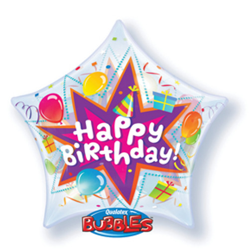 "22"" Birthday Party Blast Bubble Balloon"
