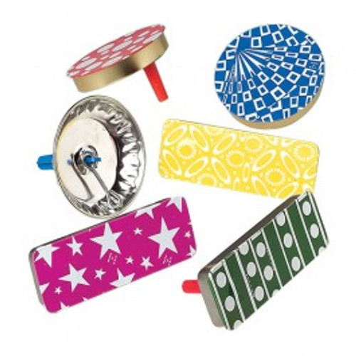 Retro Metal Noisemaker Assorted Designs