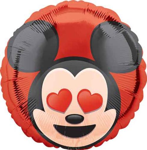 "17"" Mickey Mouse Emoji Balloon"