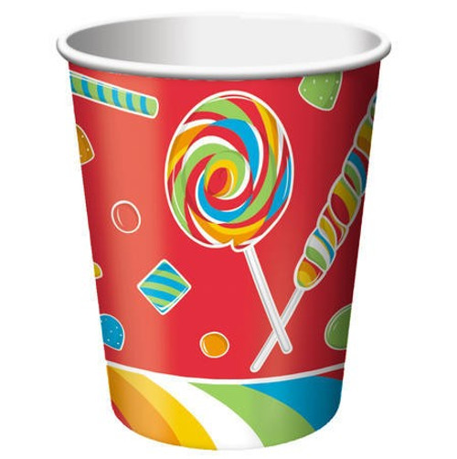 Sugar Buzz 9 Oz Hot/Cold Cup