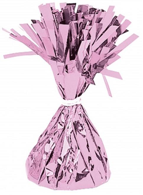 150g Pink Foil Balloon Weight