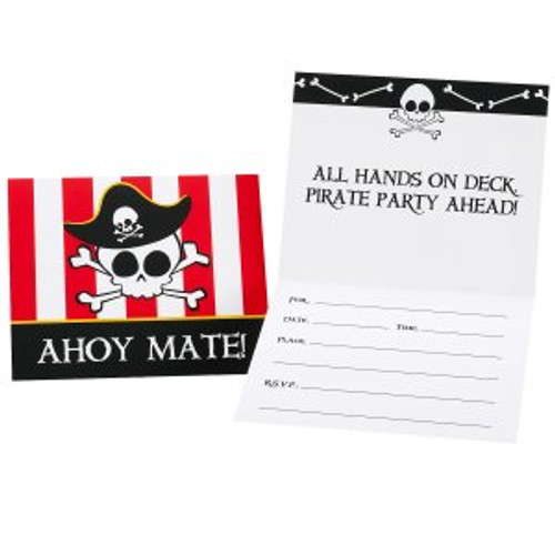 Little Buccaneer Invitation Cards & Envelopes