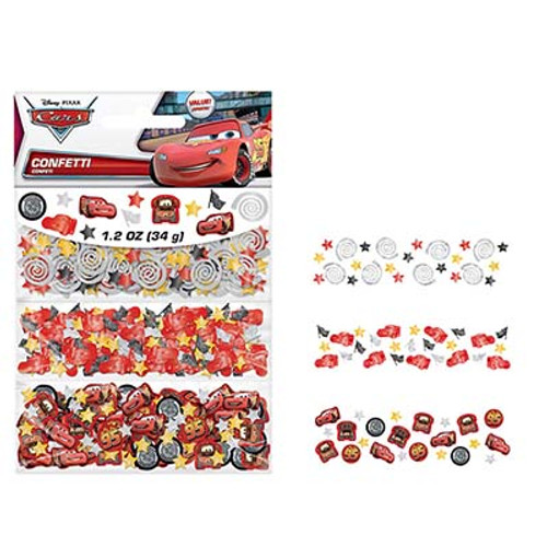 Disney Cars Formula Value Confetti Pack