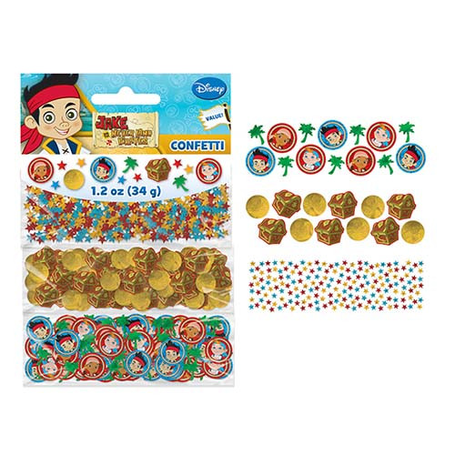 Jake & Never Land Pirates Value Confetti Pack