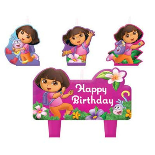 Dora The Explorer Birthday Candles