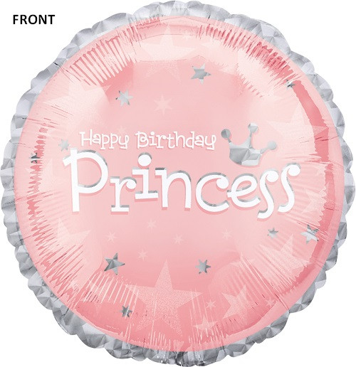 "18"" Birthday Princess Foil Balloon"