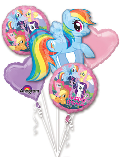 My Little Pony Friendship Birthday Balloon Bouquet