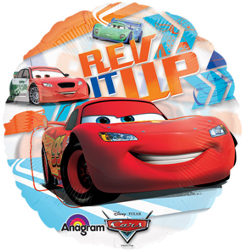 "26"" Disney Cars See Thru Balloon"