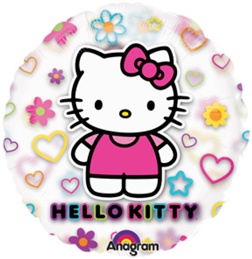 "26"" Hello Kitty See Thru Balloon"