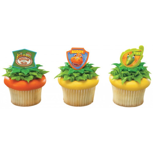 Dinosaur Train Cupcake Rings
