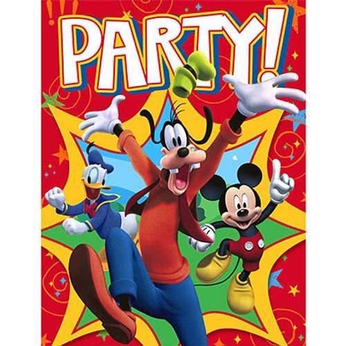 Mickey Fun & Friends Invitation Cards & Envelopes