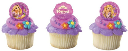 Disney Tangled Cupcake Rings