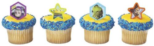 Toy Story Cupcake Rings 12pcs