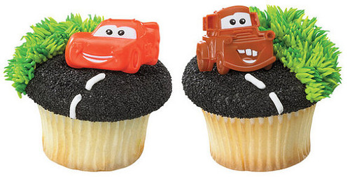 Disney Cars Molded Cupcake Rings