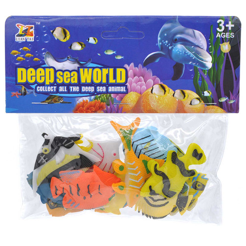 Mini Tropical Fish Figure Toy 12pcs/pack