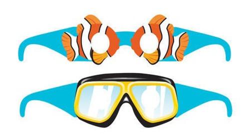 Ocean Party Paper Glasses