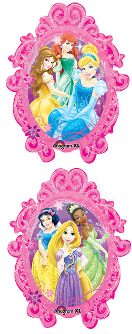 "25"" Disney Princess Frame Super Shape Balloon"