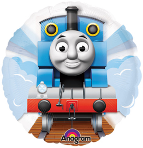 "26"" Thomas The Tank See Thru Balloon"