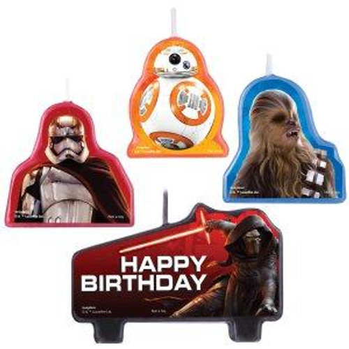 Star Wars VII Candle Set