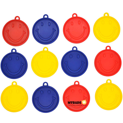 6g Primary Color Smile Face Balloon Weight 12pcs/pack