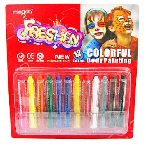 Face Paint Makeup Sticks 12pcs/pack