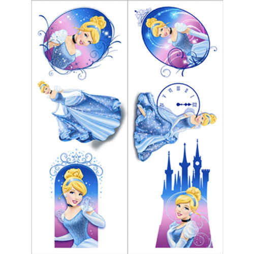 Cinderella Sparkle Tattoos