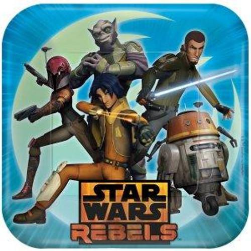 "Star Wars Rebels 9"" Square Dinner Plates"