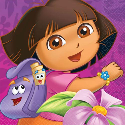 Dora The Explorer Lunch Napkins