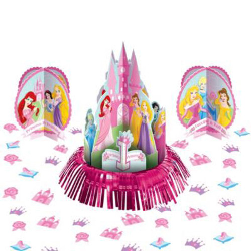 Disney Princess 1st Birthday Centerpiece Kit