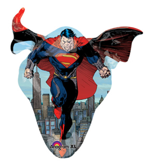 "31"" Superman Man of Steel Super Shape Balloon"