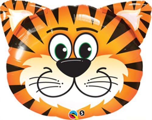 "30"" Tickled Tiger Super Shape Balloon"