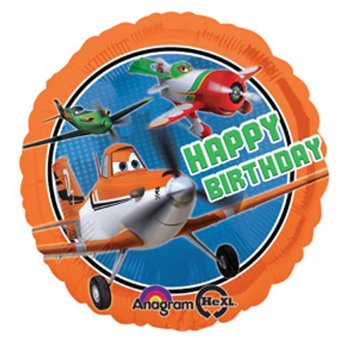 "17"" Disney Planes Happy Birthday Balloon"