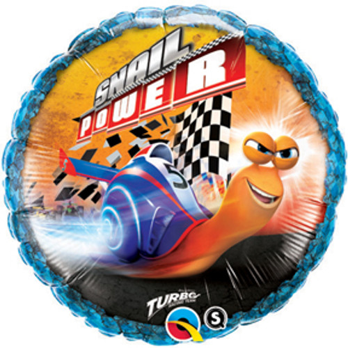 "18"" Turbo Snail Power Balloon"