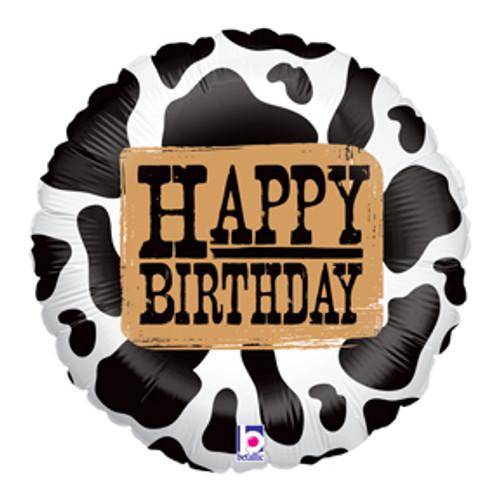 "18"" Western Birthday Balloon"