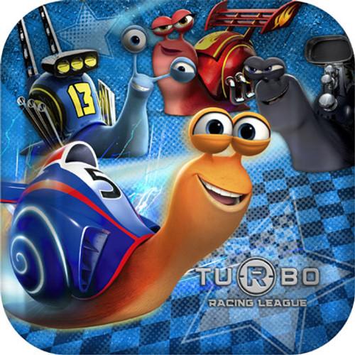 "Turbo 9"" Square Dinner Plates"