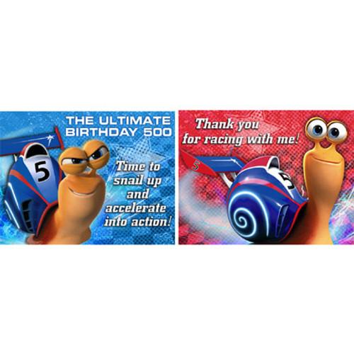 Turbo Invitations & Thank You Combo