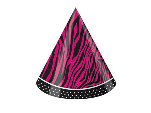 Pink Zebra Boutique Child Party Hat