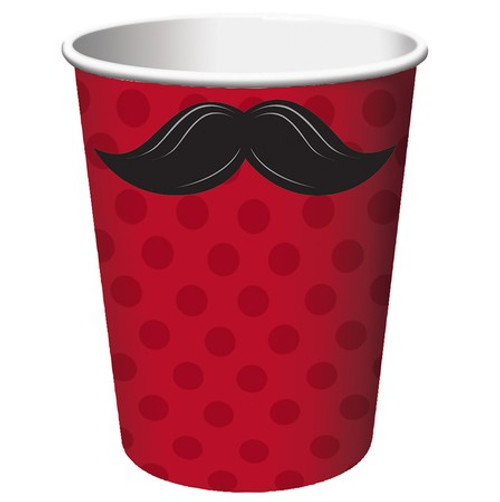 Mustache Madness 9 Oz Hot/Cold Cup