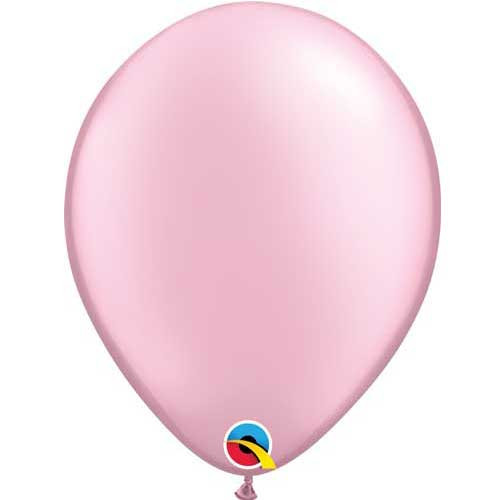 "Qualatex 11"" Metallic Pearl Pink Latex Balloon"