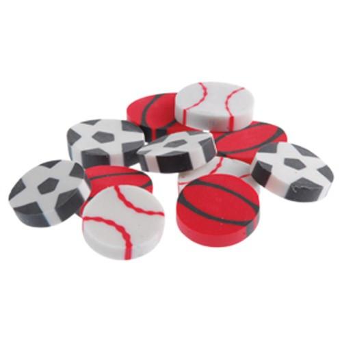 Mini Sports Erasers